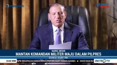 Eks Komandan Militer Maju di Pilpres Mesir