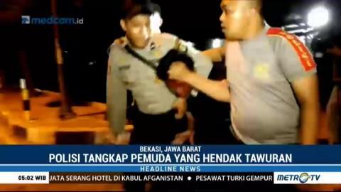 Hendak Tawuran, Enam Pemuda Ditangkap Polisi