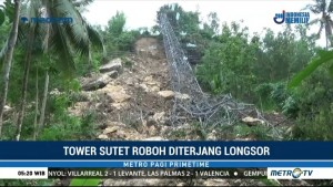 Dua Tower SUTET Roboh, Aliran Listrik di Pacitan Terganggu