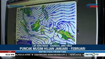 Waspada Cuaca Ekstrem di Jawa Timur