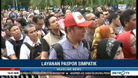 Layanan Paspor Simpatik Hadir di Festival Keimigrasian 2018
