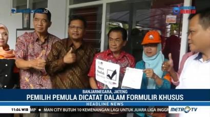 Tim Coklit KPU Datangi Kediaman Bupati Banjarnegara