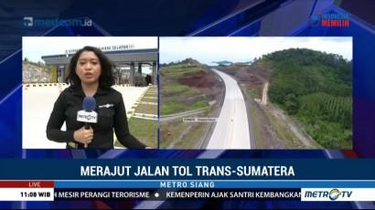 Jokowi Resmikan Tol Bakauheni-Terbanggi Besar