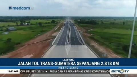 Merajut Tol Trans Sumatera