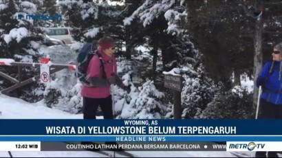 Pemerintah AS Tutup, Taman Nasional Yellowstone Tetap Buka