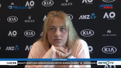 Marta Kostyuk, Petenis Belia yang Kejutkan Australia Terbuka 2018