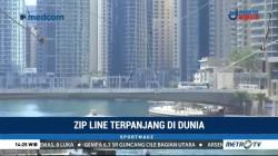 Uji Adrenalin dengan Meluncur dari Gedung Pencakar Langit di Dubai