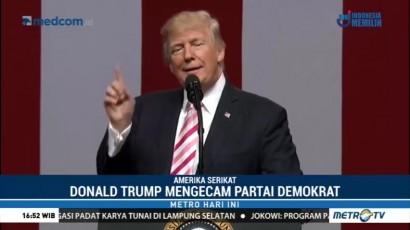 Trump Salahkan Partai Demokrat atas <i>Government Shutdown</i>