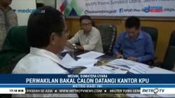 KPU Sumut Teliti Berkas Perbaikan 3 Bakal Cagub-Cawagub