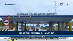 Jalan Tol Pertama di Lampung
