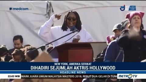 Sejumlah Artis Hollywood Ikut Aksi Dukung Pemberdayaan Perempuan