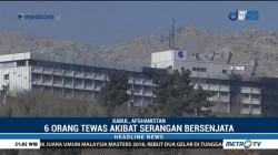 Taliban Klaim Serangan di Hotel Mewah Afghanistan