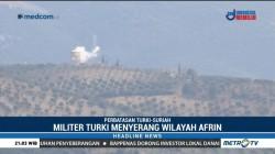 Militer Turki Gempur Kurdi di Suriah