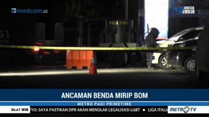 Benda Mirip Bom Ditemukan di Depan Kantor Satlantas Polres Lumajang