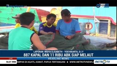 Nelayan Cantrang di Batang Siap Kembali Melaut