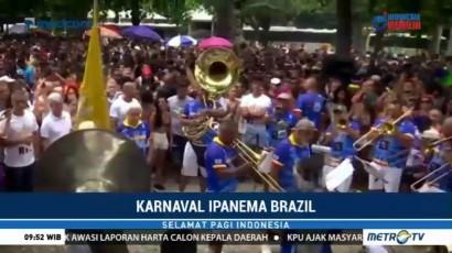Kemeriahan Karnaval Ipanema di Brasil
