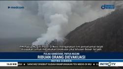 Gunung Api di Papua Nugini Meletus, Ribuan Orang Dievakuasi