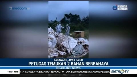 Polisi Masih Selidiki Limbah B3 di Karawang