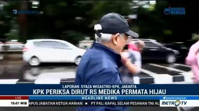 Dirut RS Medika Permata Hijau Bungkam Usai Diperiksa KPK