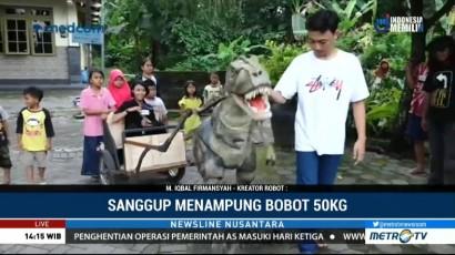 Robot T-Rex Karya Anak Muda Yogyakarta