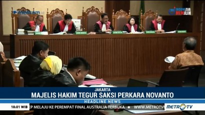Sering Lupa, Hakim Tegur Oka Masagung di Sidang Setnov