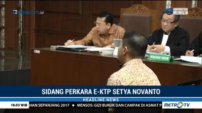 Mantan Manager HP Akui Bahas KTP-el dengan Setnov