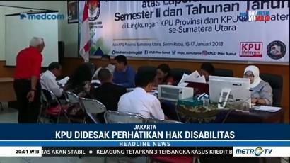 KPU Didesak Revisi SK yang Mendiskriminasi Penyandang Disabilitas