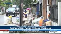 Banyak Galian Jalan di Palembang Jelang Asian Games
