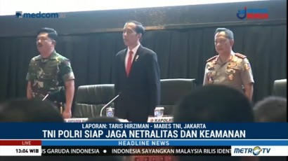 Rapim TNI-Polri 2018 Fokus Membahas Soliditas Kedua Instansi