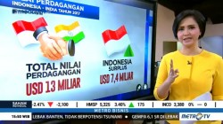 Nilai Perdagangan Indonesia-India Tahun 2017