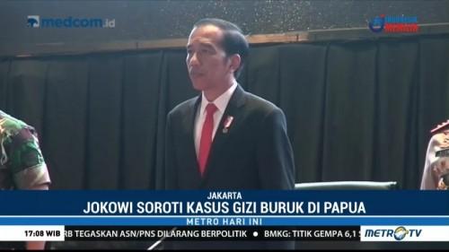 Presiden Instruksikan TNI-Polri Bentuk Satgas Pangan Atasi Gizi