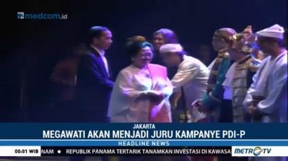 Megawati akan Menjadi Juru Kampanye PDIP