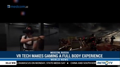 VR Tech Makes Gaming a Full Body Experience