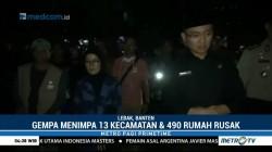 Wagub Banten dan Bupati Lebak Datangi Lokasi Korban Gempa