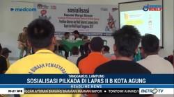 KPU Tanggamus Gelar Sosialisasi Pilkada di Lapas