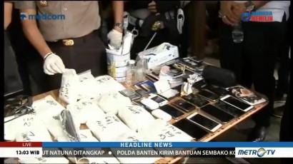 Gerebek Gudang Narkoba, Polisi Sita 18 Kg Bahan Pembuatan Narkoba
