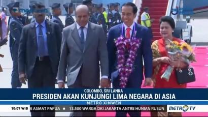Jokowi Berkunjung ke Sri Lanka untuk Kerja Sama
