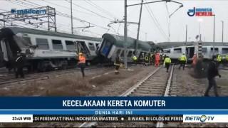 Kereta di Milan Keluar Jalur, Tiga Orang Tewas