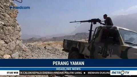 Pasukan Arab Saudi Serang Wilayah Houthi