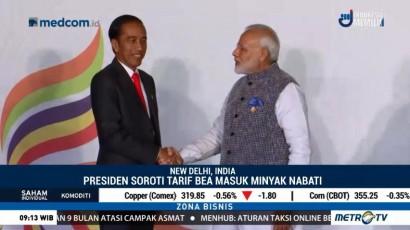 Pertemuan Jokowi-PM India Bahas Kerja Sama Ekonomi