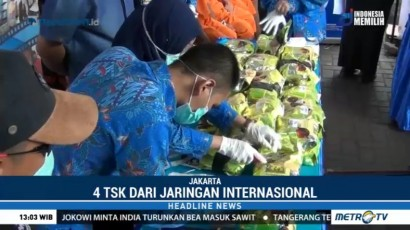 BNN Musnahkan 40 Kg Sabu Asal Malaysia