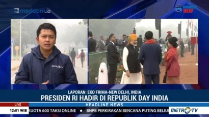 Jokowi Hadiri Acara Republic Day India 2018