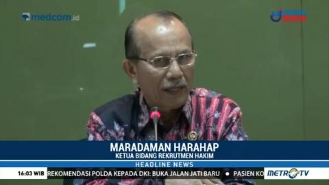 74 Calon Hakim Agung Lolos Seleksi Administrasi Komisi Yudisial