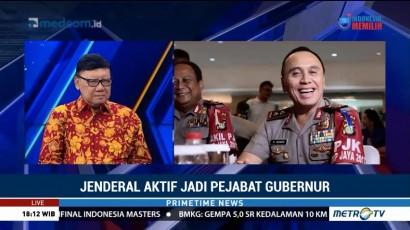 Dua Jenderal Jadi Plt Gubernur, Mendagri: Itu Wajar
