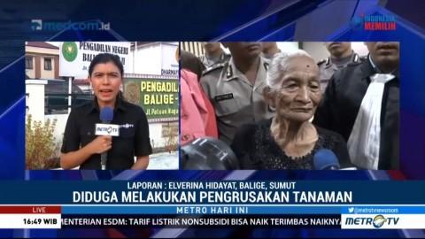 Nenek Saulina Divonis 1 Bulan 14 Hari Penjara