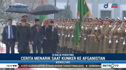Cerita Menarik saat Kunjungan Kerja Jokowi di Afghanistan