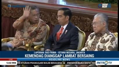 Dianggap Lambat Bersaing, Jokowi Tegur Kementerian Perdagangan