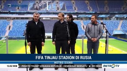 FIFA Tinjau Stadion di Rusia