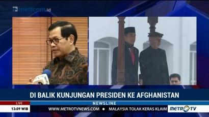 Di Balik Kunjungan Presiden ke Afghanistan