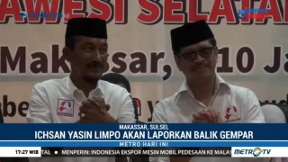 Ichsan Yasin Limpo akan Laporkan Balik Pelapor Kasus Ijazah Palsu